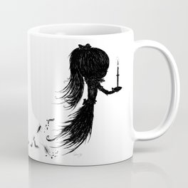 Little Soul and Candle by Carine-M Coffee Mug