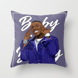 Baby on Baby Throw Pillow