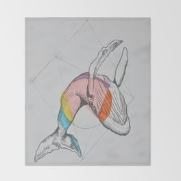 El salto Throw Blanket