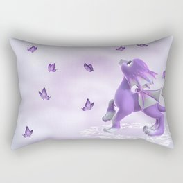 Little Dragon Rectangular Pillow