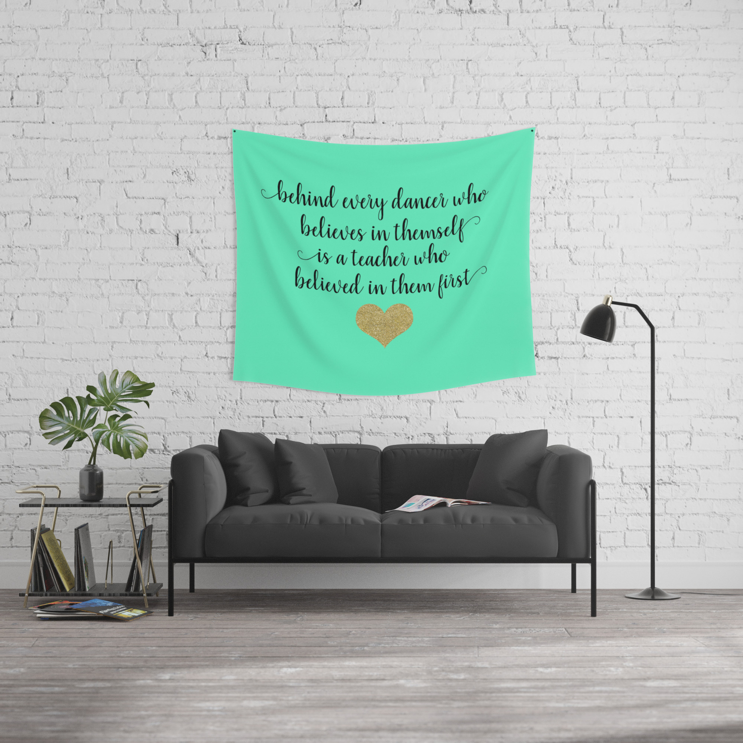 Dance Teacher Quotes Wall Tapestry