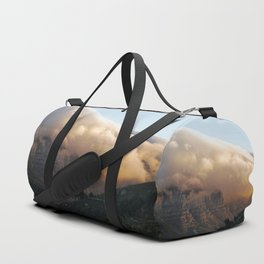 Crowned in clouds Duffle Bag