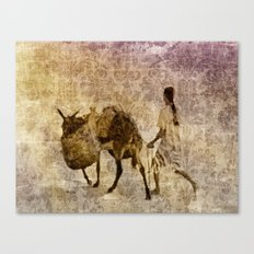 island tapestry Canvas Print