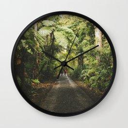 Rainforest Walks Wall Clock