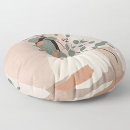 Behind the Leaves Floor Pillow