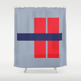 What the H? Shower Curtain