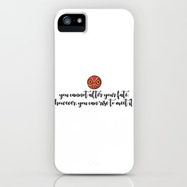 YOU CAN RISE iPhone Case
