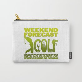 WEEKEND FORECAST GOLF Carry-All Pouch