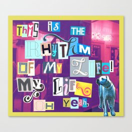 Rhythm  Canvas Print