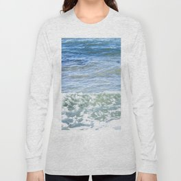 Waves Crashing Long Sleeve T-shirt