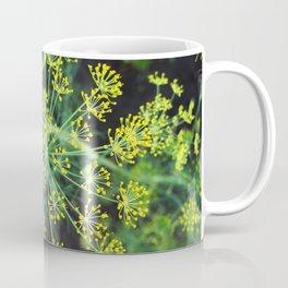 fresh flower of fennel Coffee Mug