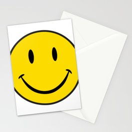 Smiley Happy Face Stationery Cards