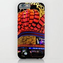 Flamingo Hotel Neon Lights Las Vegas America iPhone Case