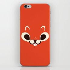 Minimal Squirrell iPhone & iPod Skin