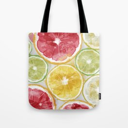 Citrus Splash Tote Bag