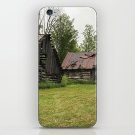 bygone times iPhone Skin