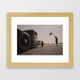 Speed Kings Framed Art Print
