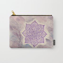 purple mandala watercolor Carry-All Pouch