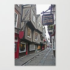 The Shambles of York Canvas Print