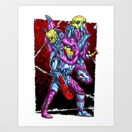 METAL MUTANT 4 Art Print