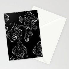 Black and white pattern . Stationery Cards