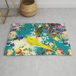 Tropical birds in the nature - 010 Rug