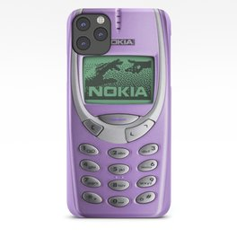 OLD NOKIA Purple iPhone Case