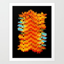 Abstract Composition #2 Art Print