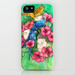 Michael in the Jungle iPhone Case