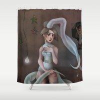 artrave Shower Curtains featuring TLATP by MYLÈNE BRAGINA