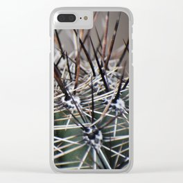 Prickly Cacti Clear iPhone Case