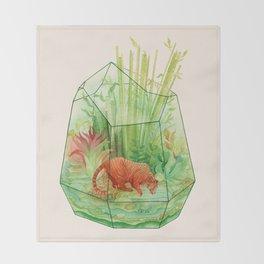 Tigerrarium Throw Blanket