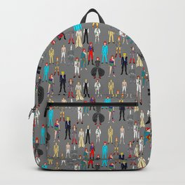 Retro Vintage Fashion 1 Backpack