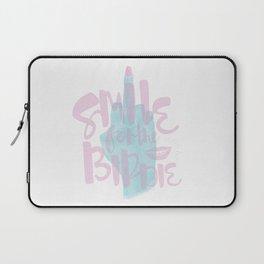 Smile For The Birdie Laptop Sleeve
