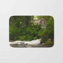 Brandywine River and First Presbyterian Church Rural Landscape Photo Bath Mat