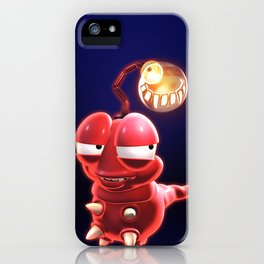 Sneaky Grubble iPhone Case