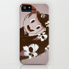 Head Spill iPhone Case