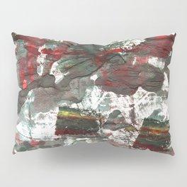 Dark liver abstract watercolor Pillow Sham