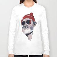 zissou Long Sleeve T-shirts featuring Team Zissou by PAFF