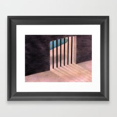 I don't know the way out Framed Art Print