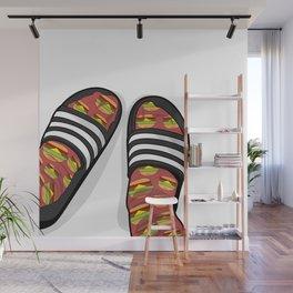 Flip Flops Wall Mural