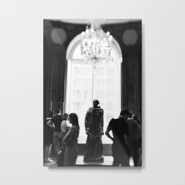 Alone in a Room Full of People Metal Print
