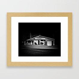 Roadside Antiques Shop in Torrance Ontario Framed Art Print