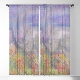 Rhino Wave Sheer Curtain