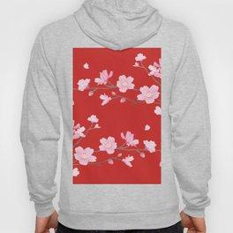 Cherry Blossom - Red Hoody