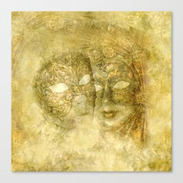 Venetian Masks Canvas Print