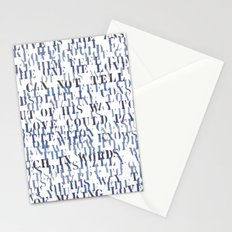 Sentences of Love Zoom Stationery Cards