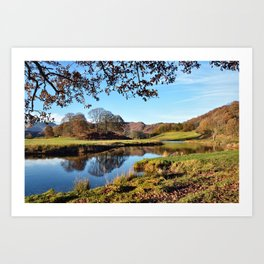 River Brathay  Art Print