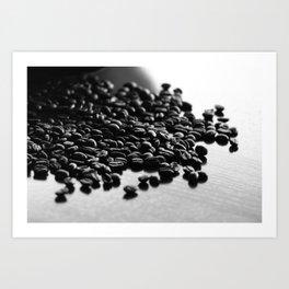 Don't Spill The Beans Art Print