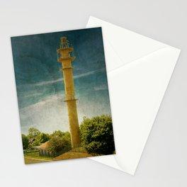 DE - Niedersachsen Old lighthouse in Schillig Stationery Cards